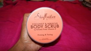 Shea Moisture Coconut & Hibiscus Body Scrub