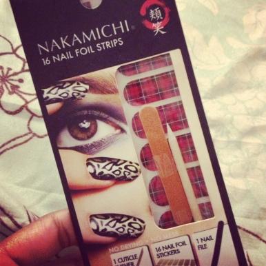 Nakamichi Nail Foil Strips