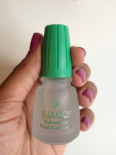 Gelous Adavnced Nail Gel Coat
