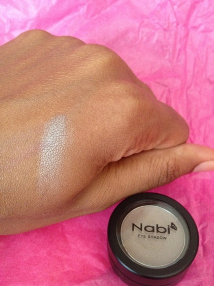Nabi Cosmetics Eye Shadow in Cocoa