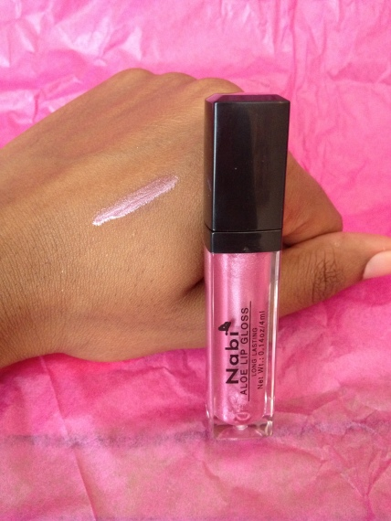 Nabi Cosmetics Lip Gloss in Cosmos