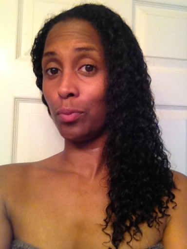 Freshly co-washed,  product free hair.