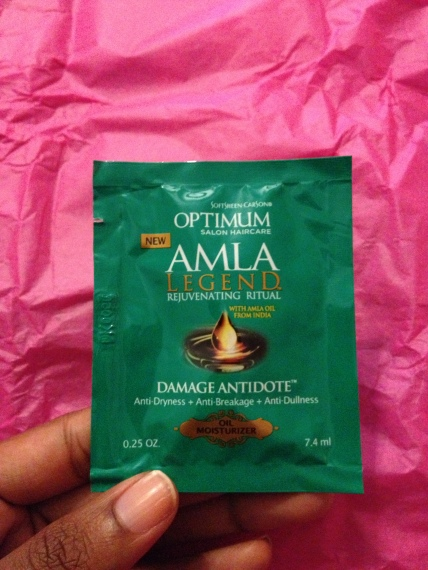 Soft Sheen Carson AMLA Legend Rejuvinating Oil Moisturizer