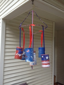 Our Patriotic Wind Chime.