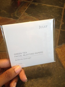Green Tea Facial Blotting Papers