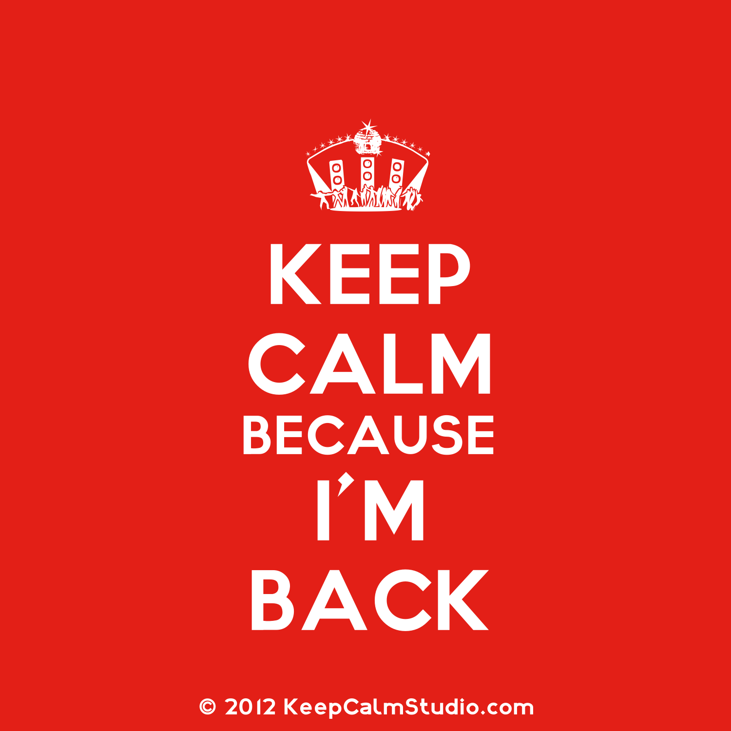 ... being patient and sticking around! Now let the blogging begin! WOOT