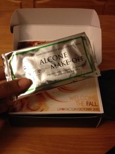 BONUS: Alcone Make-off Makeup Remover