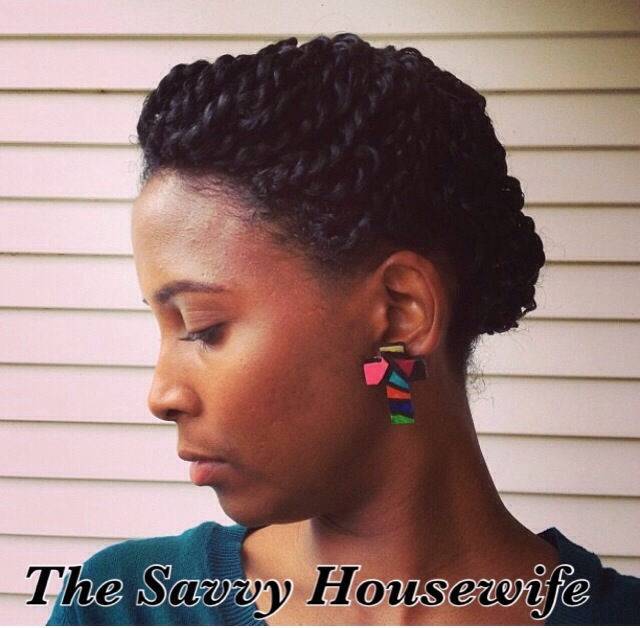 Natural hair updo the savvy housewife mini twist updo pmusecretfo Gallery