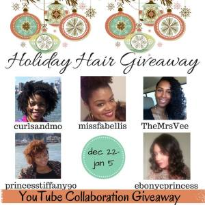 Holiday Hair Giveaway Collab