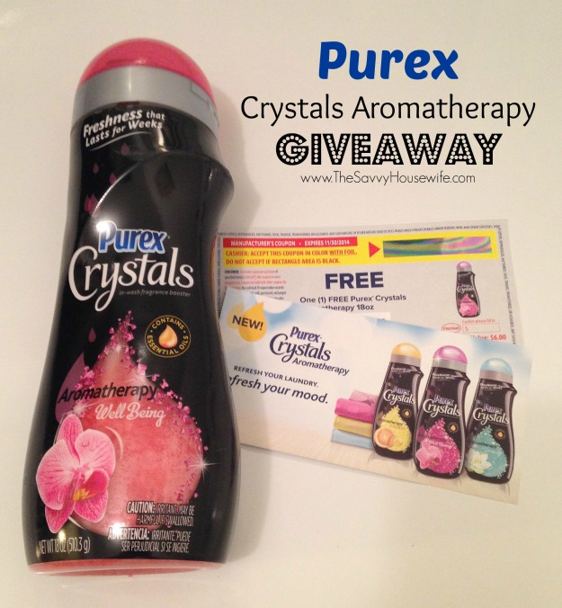 Purex Crystals Aromatherapy Giveaway